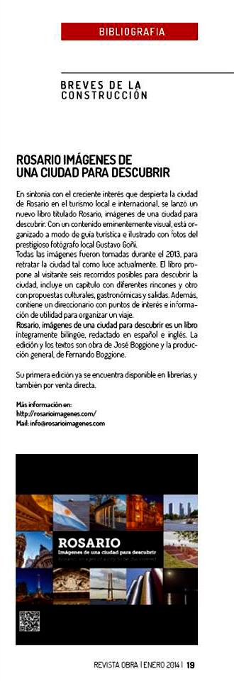 Revista Obra - enero 2014